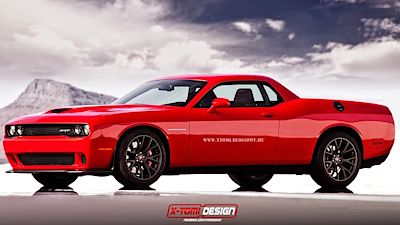 Dodge Challenger SRT Supercharged