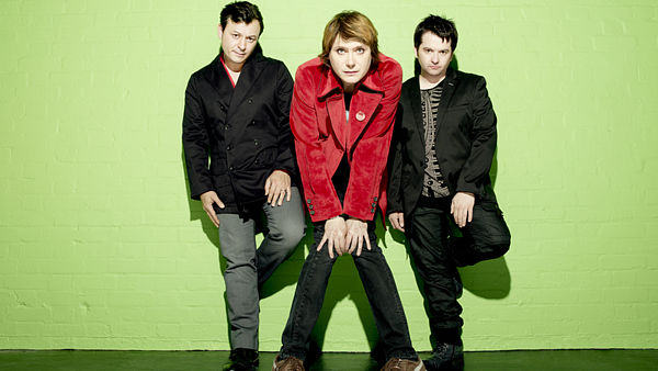 Manic Street Preachers, zleva James Dean Bradfield, Nicky Wire a Sean Moore