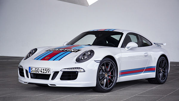 Porsche 911 Carrera S Martini Racing Edition (2014).