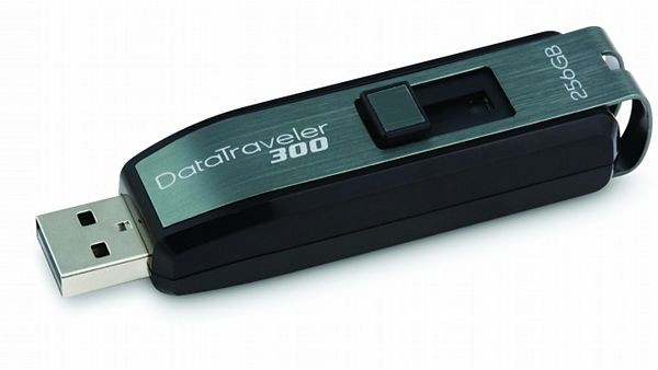 USB flash disk DataTraveler 300 s kapacitou 256 GB