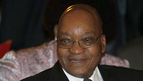 Prezident JAR Jacob Zuma