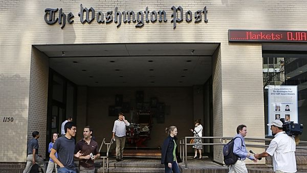 Centrála listu The Washington Post ve Washingtonu