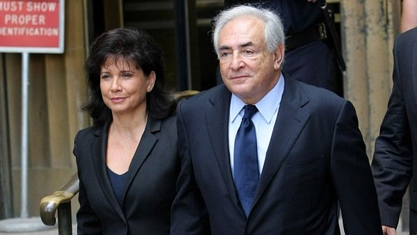 Dominique Strauss-Kahn s Anne Sinclairovou