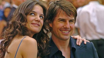 Tom Cruise s partnerkou Katie Holmesovou