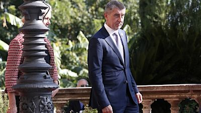 Prime Minister Andrej Babis on Tuesday in Palermo, Italy