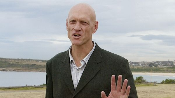 Peter Garrett ze skupiny Midnight.