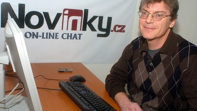 Václav Šmatlák na on-line chatu