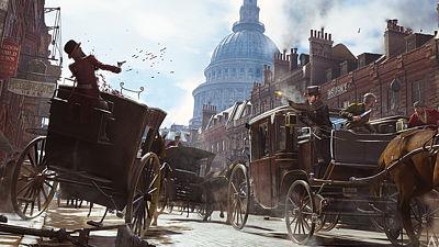 Ukázka ze hry Assassins Creed: Syndicate