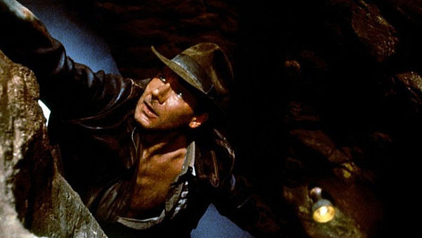 Harrison Ford jako Indiana Jones