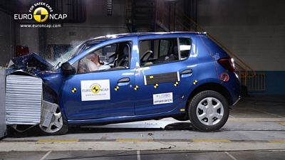 Crash test Dacie Sandero