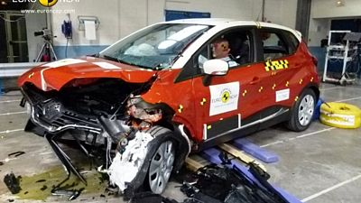Crash test Renault Captur