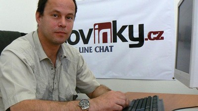 Robert Porkert na on-line chatu Novinek
