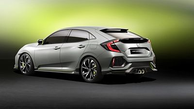 Honda Civic Hatchback Prototype