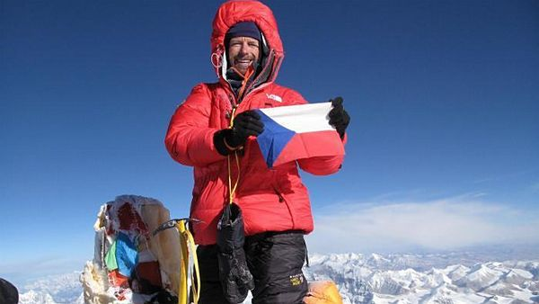 Pavel Bém na Mount Everestu