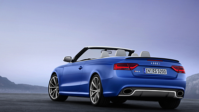 Audi RS 5 Cabriolet (2012)
