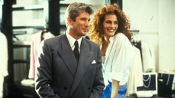 Richard Gere a Julia Robertsová v Pretty Woman