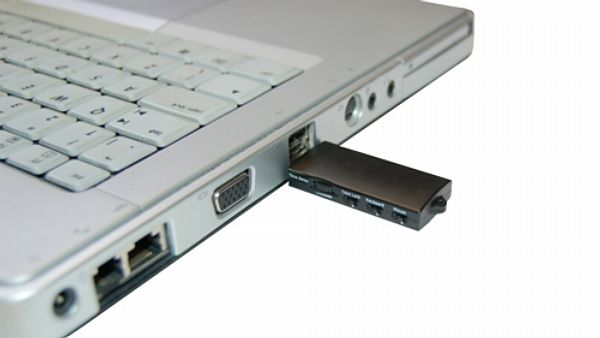 USB porty notebooku