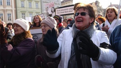 Demonstrace lékařů