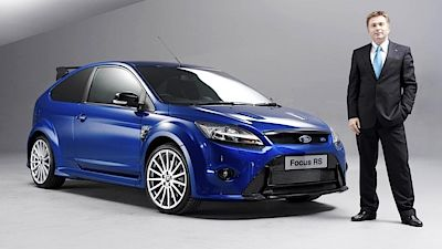 Jost Capito a Ford Focus RS