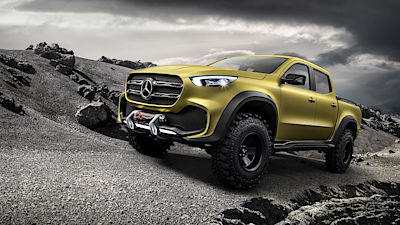 Mercedes-Benz X-Class Powerful Adventurer