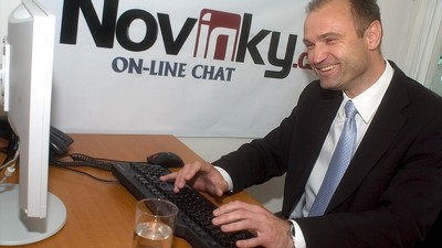 Ivan Langer na on-line chatu