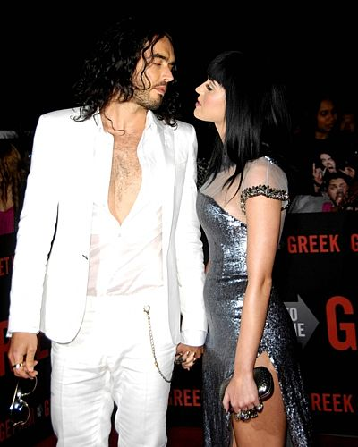 Katy Perry a Russel Brand