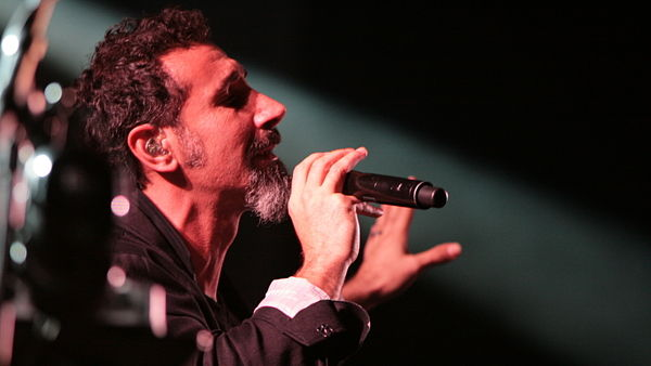 Serj Tankian ze skupiny System Of The Down.