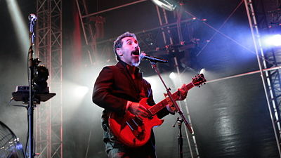 Serj Tankian ze skupiny System Of The Down