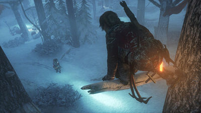 Ukázka ze hry Rise of the Tomb Raider
