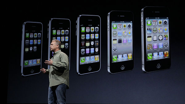 Viceprezident firmy Apple Peter Schiller