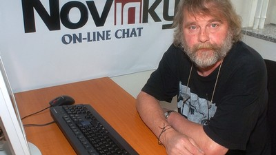 Petr Šabach na on-line chatu