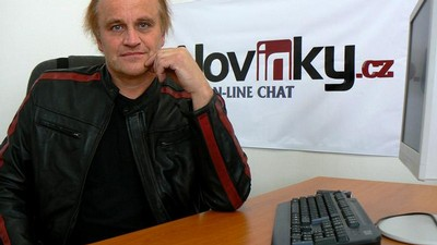 Michael Kocáb na on-line chatu