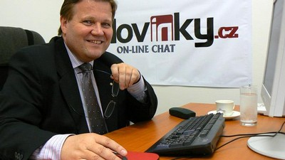 Zdeněk Škromach na on-line chatu