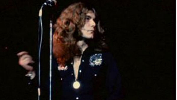 Zpěvák Led Zeppelin Robert Plant