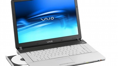 Notebook Sony Vaio VGN-FS195VP.