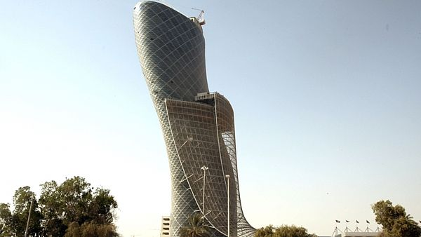 Mrakodrap Capital Gate v Abú Zabí