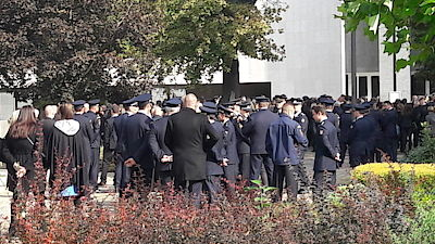In Prostějov a funeral fire took place on Monday, which died in a devastating explosion in a house in Mostkovice, Prostějov.