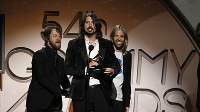 Foo Fighters s cenou Grammy