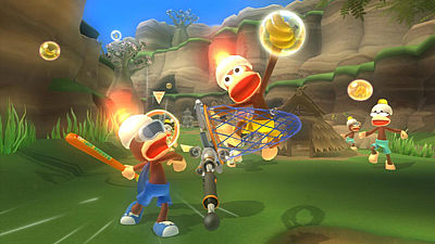 Hra Ape Escape na Sony PlayStation 3 a ovladač Move
