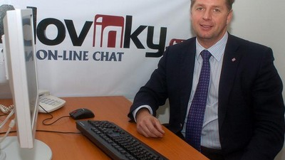 Petr Bendl na on-line chatu