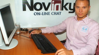 Milan Richter na on-line chatu Novinek