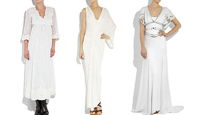Zleva: Leaves of Grass, Donna Karan, Temperley London