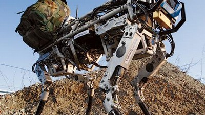 BigDog od Boston Dynamics