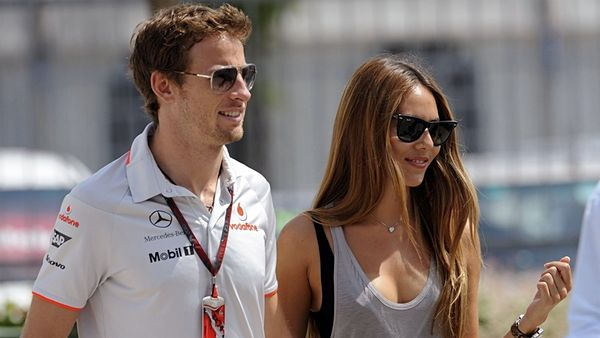 Jenson Button a Jessica Michibata