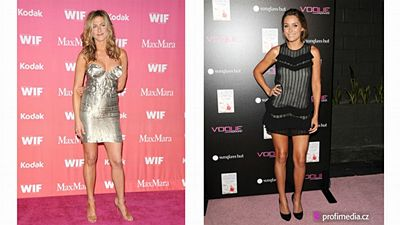 Zleva: Jennifer Aniston, Lauren Conrad