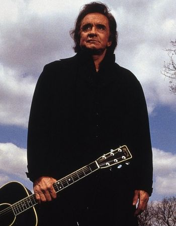 Countryový král Johny Cash.