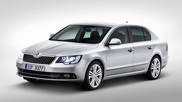 Škoda Superb (facelift, 2013)
