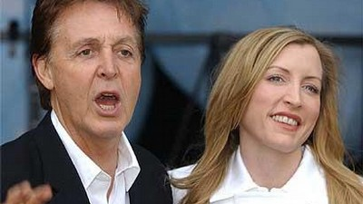 Paul McCartney s Heather Millsovou.