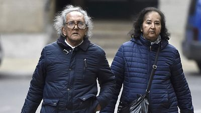 Aravindan Balakrishnan arrives at Southwark Crown Court in LondonAravindan Balakrishnan (L) arrives at Southwark Crown Court in London, Britain November 11, 2015. Balakrishnan is charged with false imprisonment and rape. REUTERS/Toby Melville