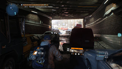 Ukázka ze hry Tom Clancy's The Division